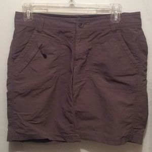 The North Face women's stone gray shorts, size 6